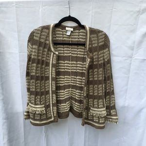 Chicos knit textured sweater